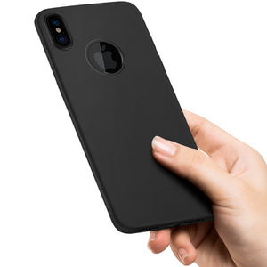 Apple iPhone X/Xs HOCO Soft Silicone Ultra Thin Matte Back Cover