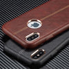 Apple iPhone X/Xs Vorson Luxurious Genuine Leather PU Hard Back Case