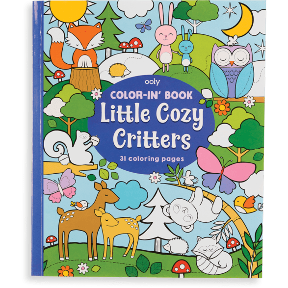 Ooly Color-In' Book: Little Cozy Critters