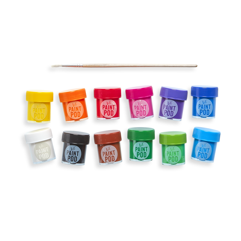 Ooly Lil' Poster Paint Pods: Set of 12