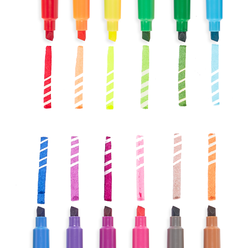 Ooly Make No Mistake Erasable Markers: Set of 12