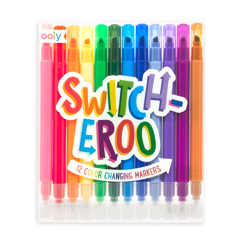 Ooly Switch-Eroo Color Changing Markers: Set of 12