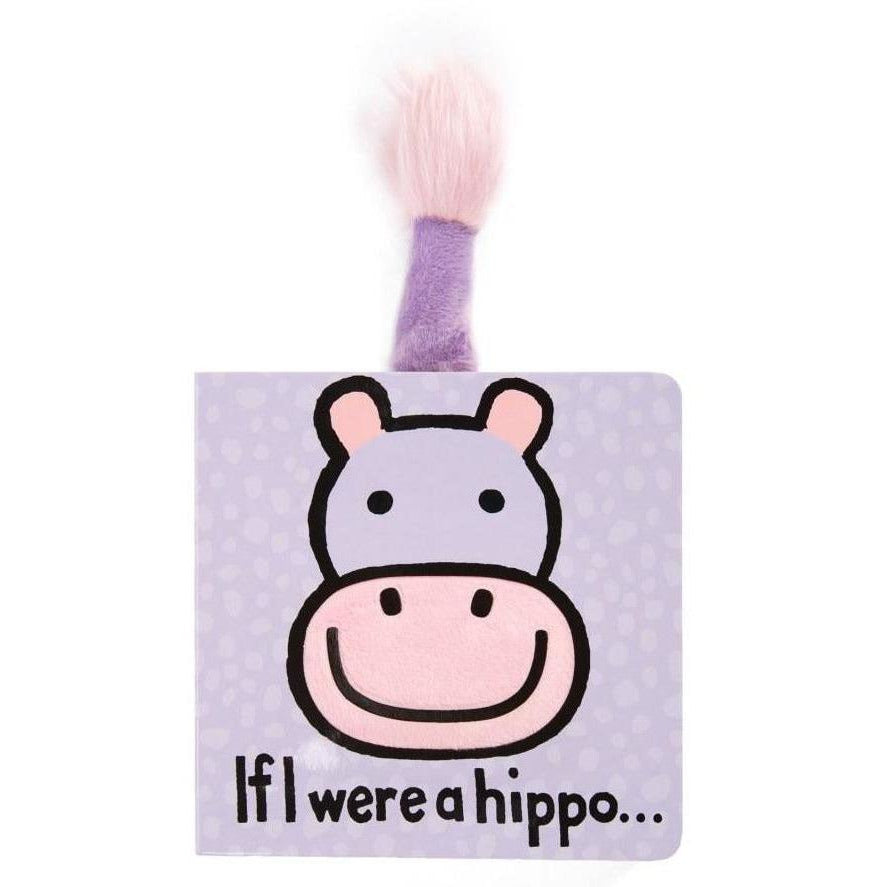Jellycat - If I were a Hippo Book