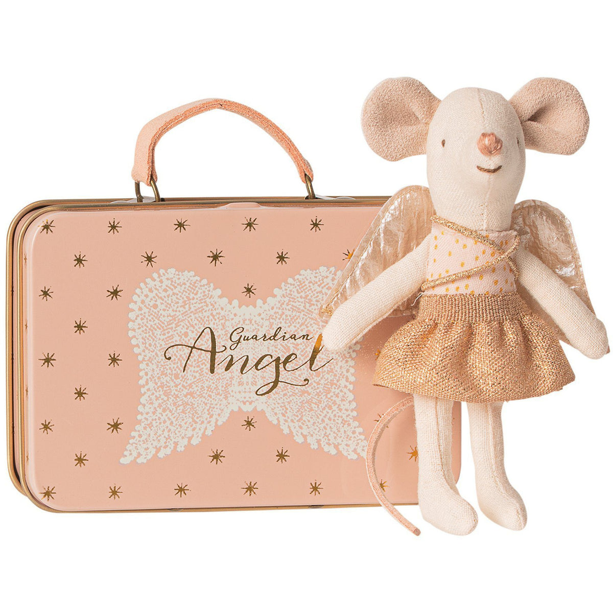Maileg Little Sister Guardian Angel in Suitcase