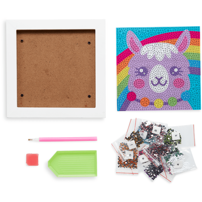 Ooly Razzle Dazzle DIY Gem Art Kit: Lovely Llama
