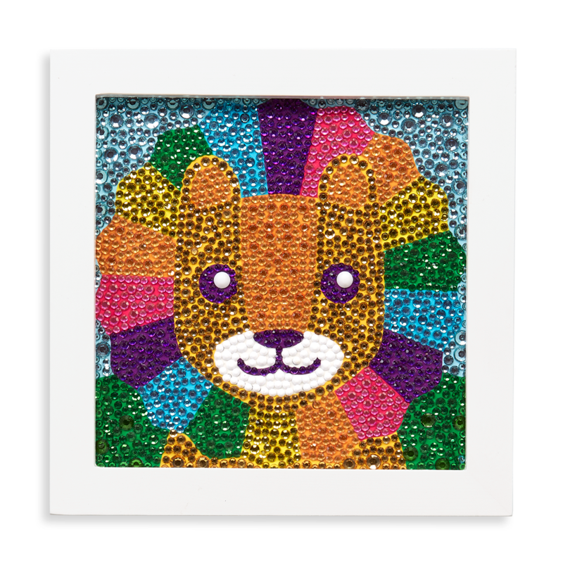 Ooly Razzle Dazzle DIY Gem Art Kit: Lil' Lion