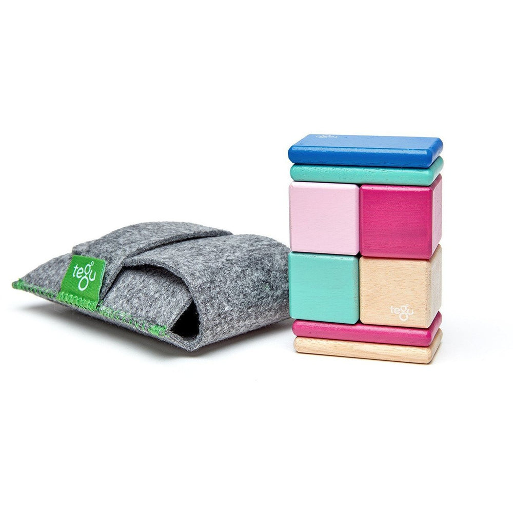 Tegu Original Pocket Pouch: Blossom
