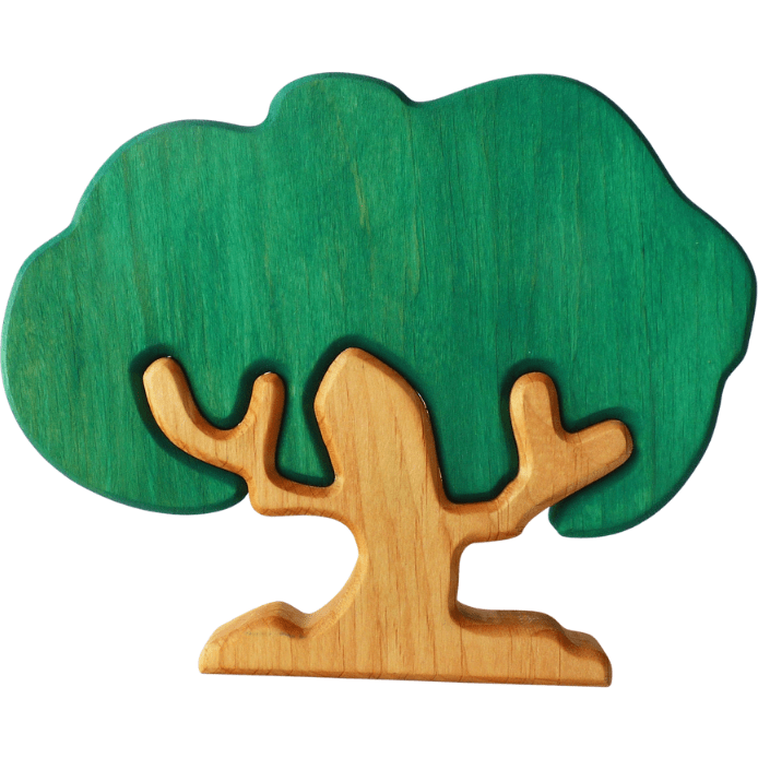 Forest Melody Wooden Oak Tree