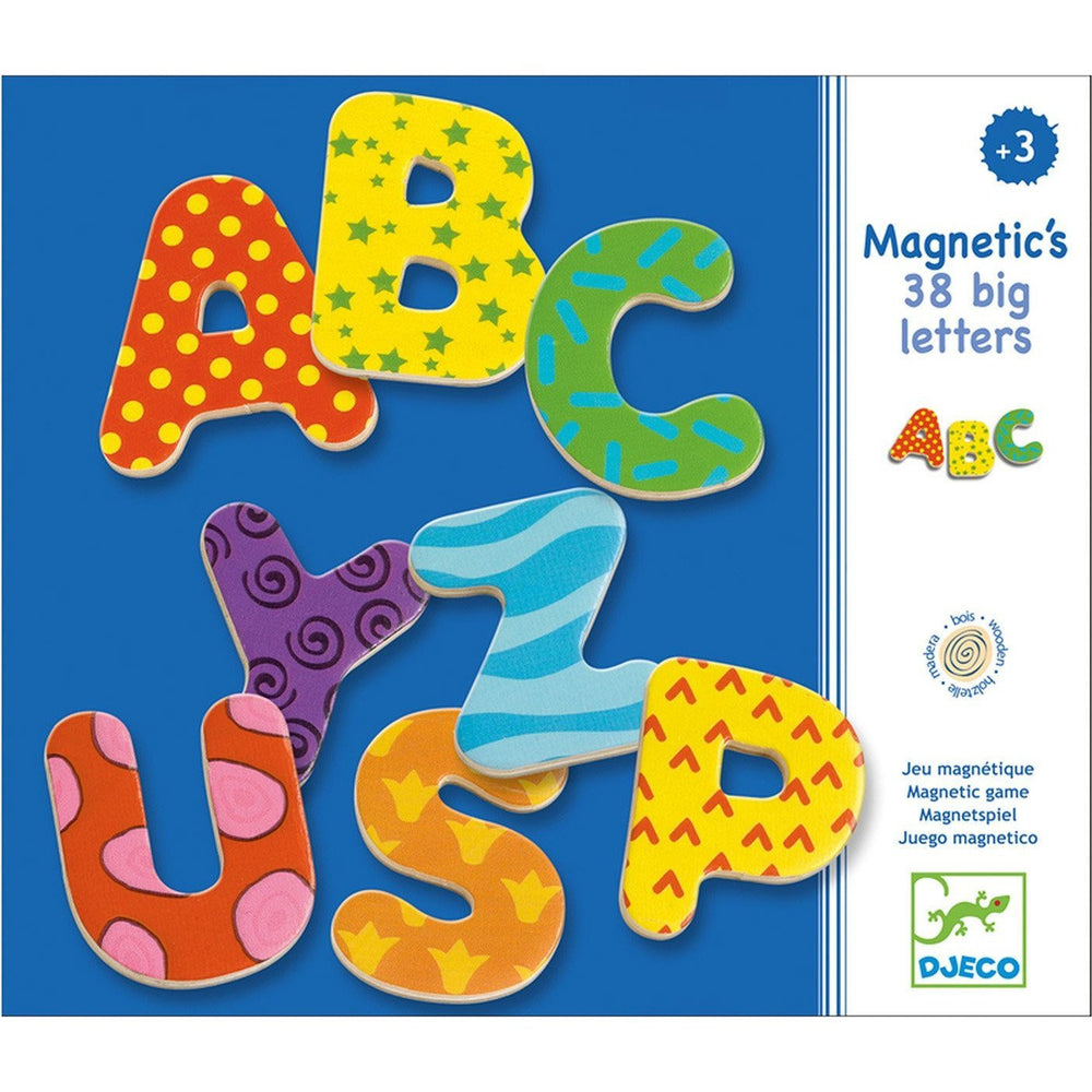 Djeco 38 Big Letters Magnetic Game