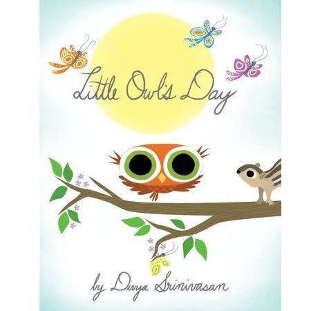 Little Owl's Day Board Book