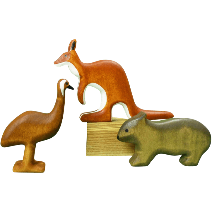 Forest Melody Wooden Australian Animals Set