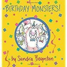 Birthday Monsters Board Book