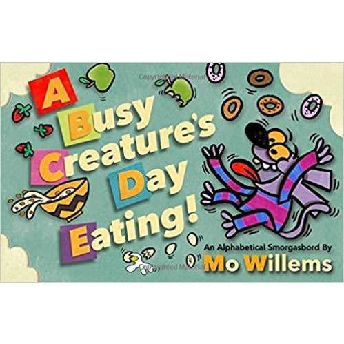 Busy Creatures Day Eating! Board Book