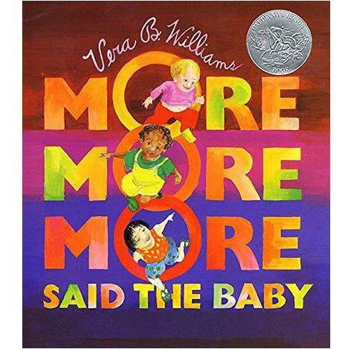 """More More More,"" said the Baby Paperback"