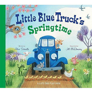 Little Blue Truck's Springtime Book