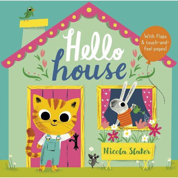 Hello House - Lift the Flap Board Book