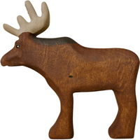 Forest Melody Wooden Moose