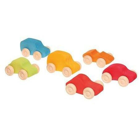 Grimm's Colored Wooden Cars