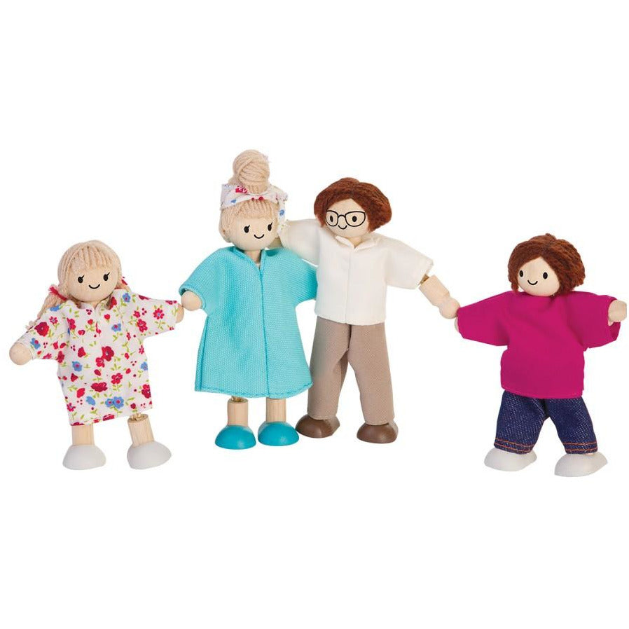 Plan Toys Modern Doll Family