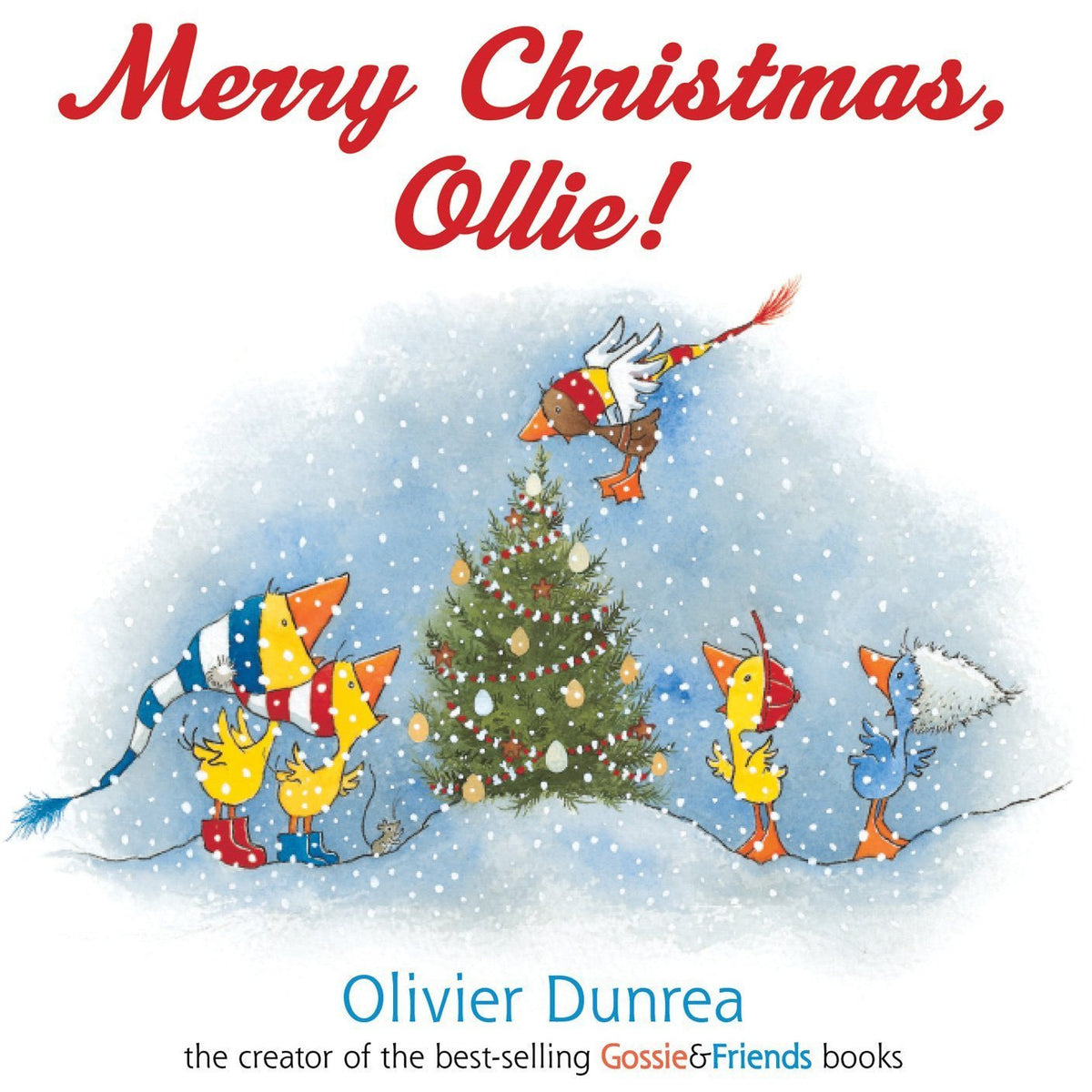 Merry Christmas Ollie Board Book