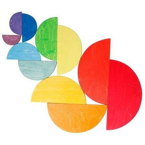 Grimm's Large Semicircles - Rainbow