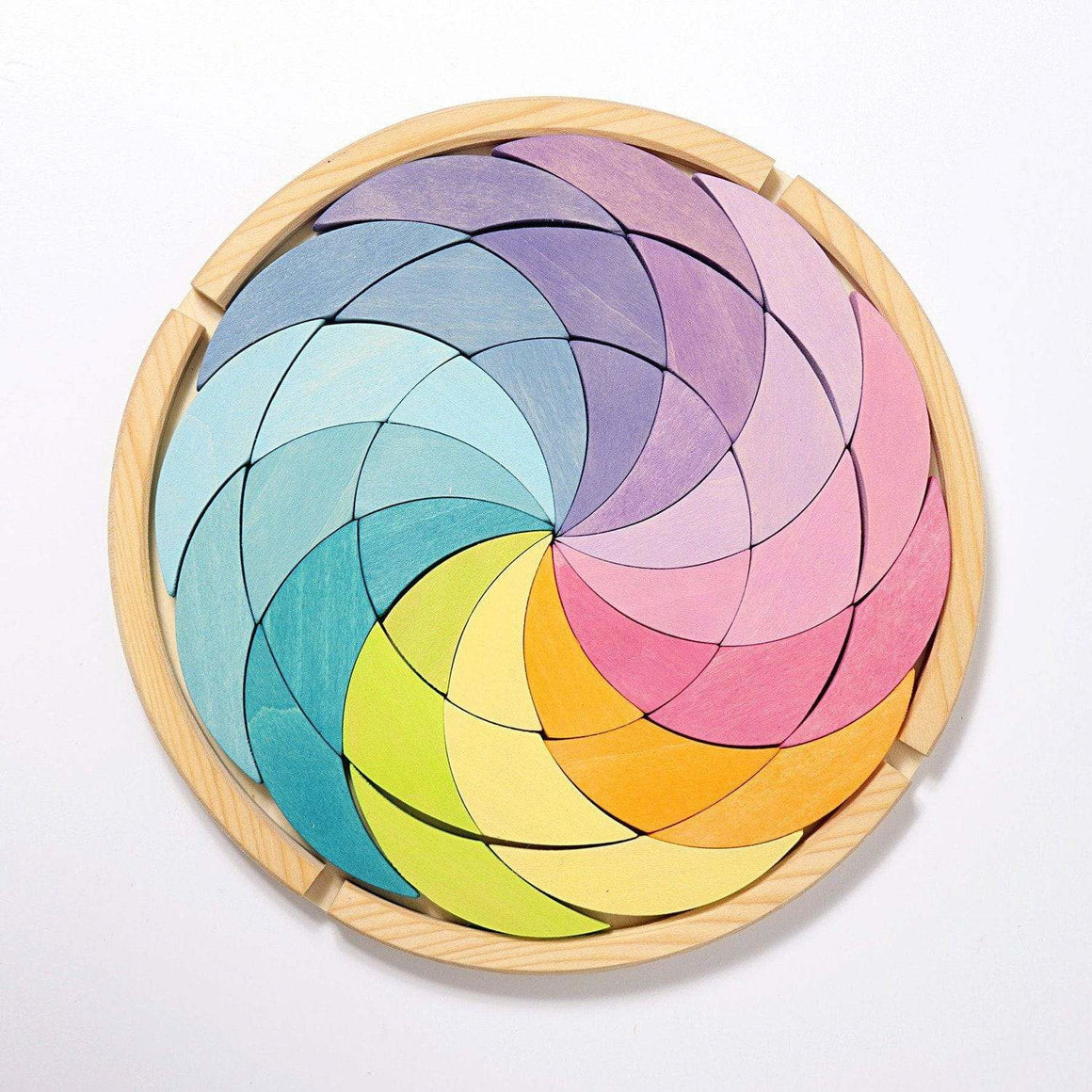 Grimm's Building Set Colorwheel Pastel