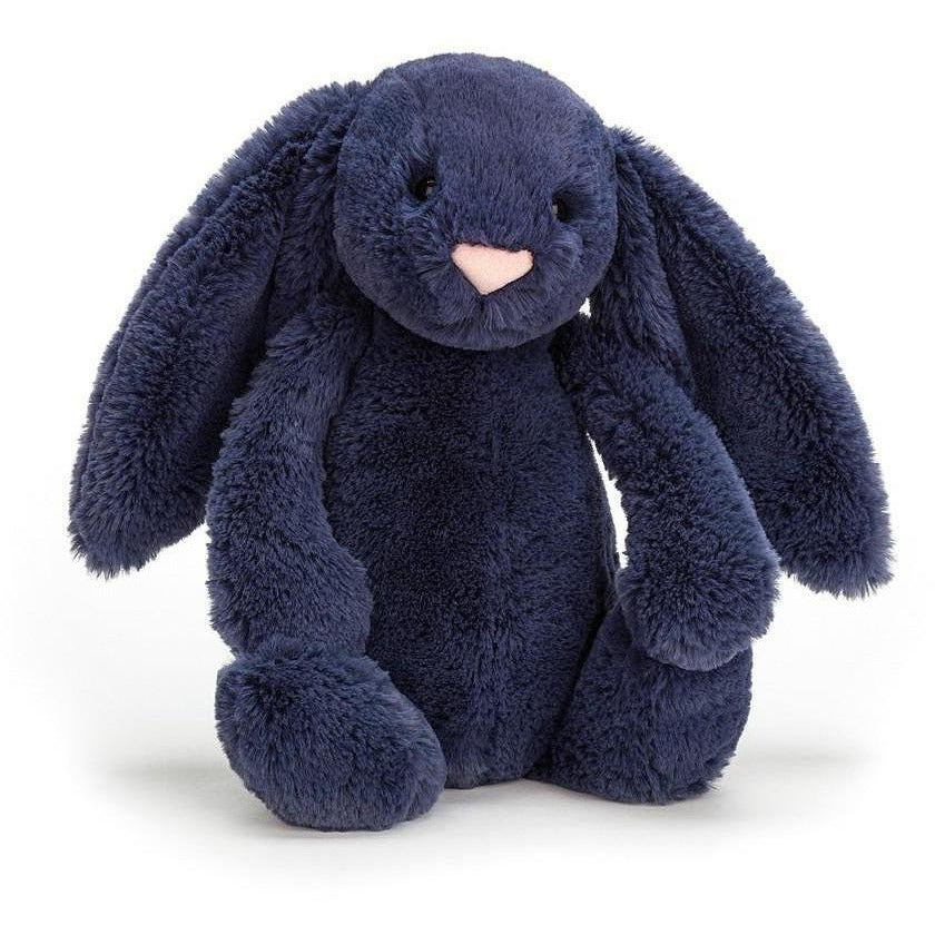 Jellycat Bashful Bunny Navy - Medium