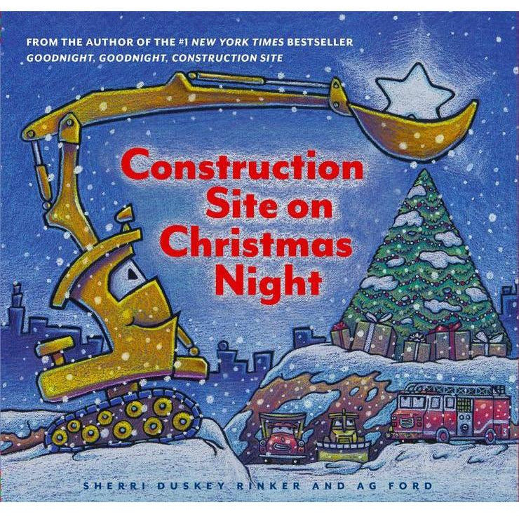 Construction Site on Xmas Night
