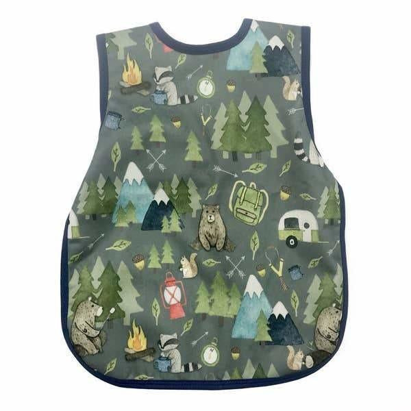 Camping Bears Toddler Bapron