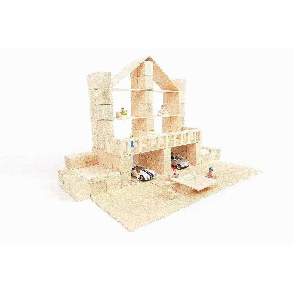 Just Blocks Wooden Blocks: Medium Pack