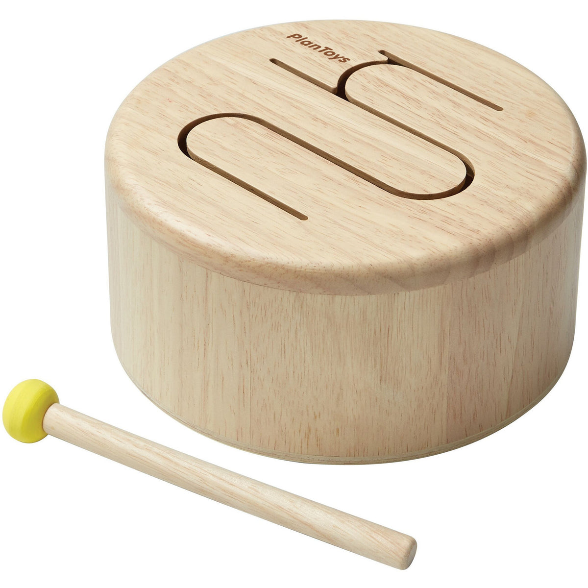 Plan Toys Solid Drum - Natural