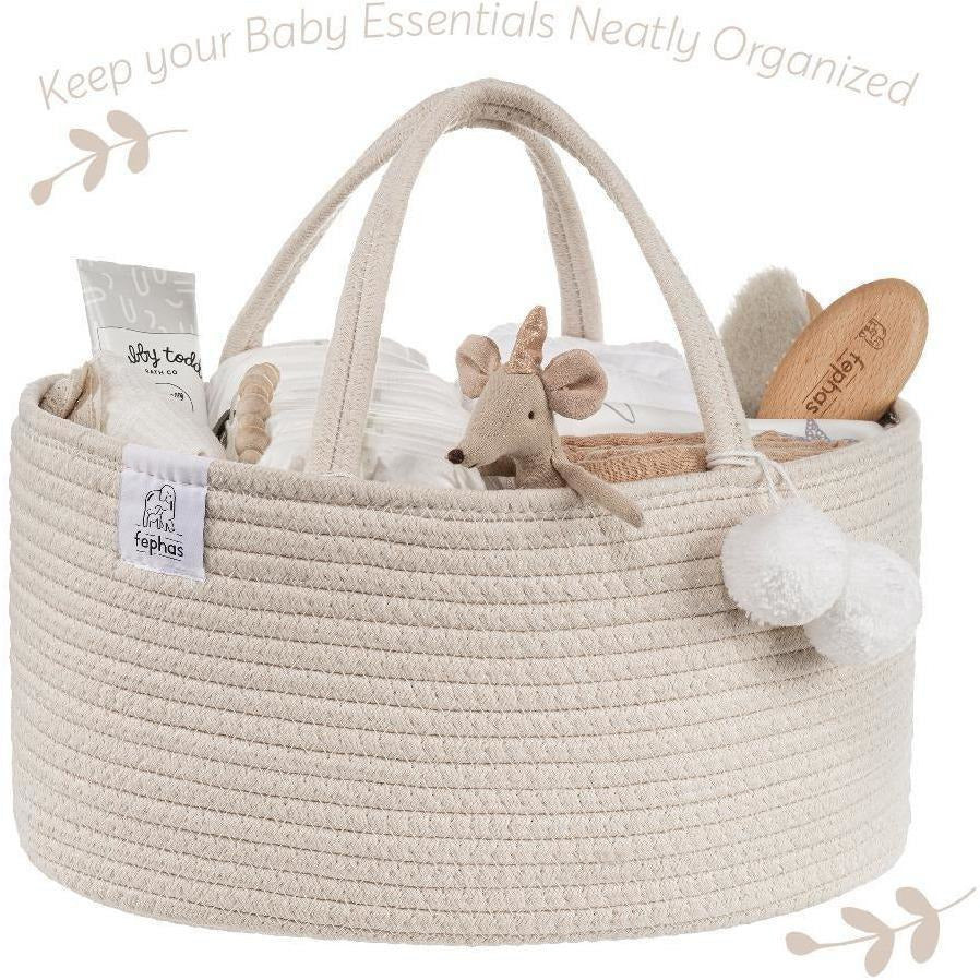 Fephas Rope Diaper Caddy