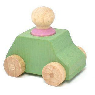 Lubulona Green Wooden Toy Car