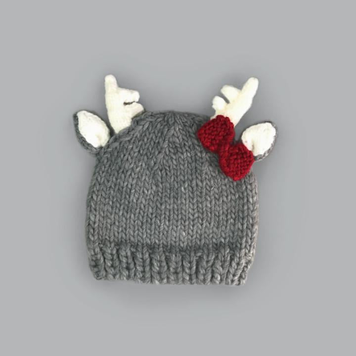 The Blueberry Hill Hartley Deer w/Bow Hat