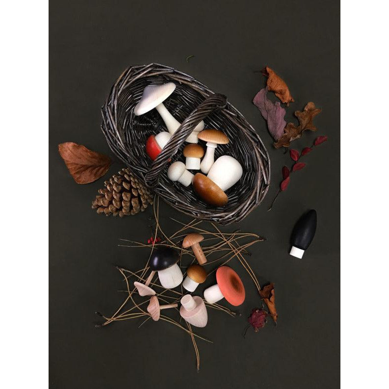 Moon Picnic - Forest Mushrooms Basket
