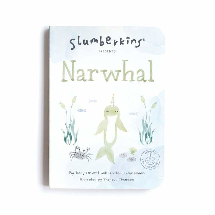 Slumberkins Narwhal Snuggler Bundle