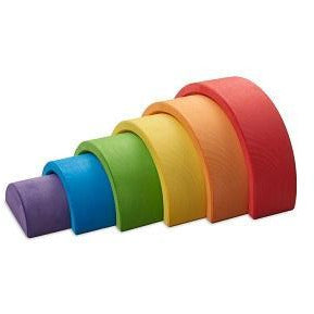 Ocamora 6 Piece Rainbow Stacker: Red Outer