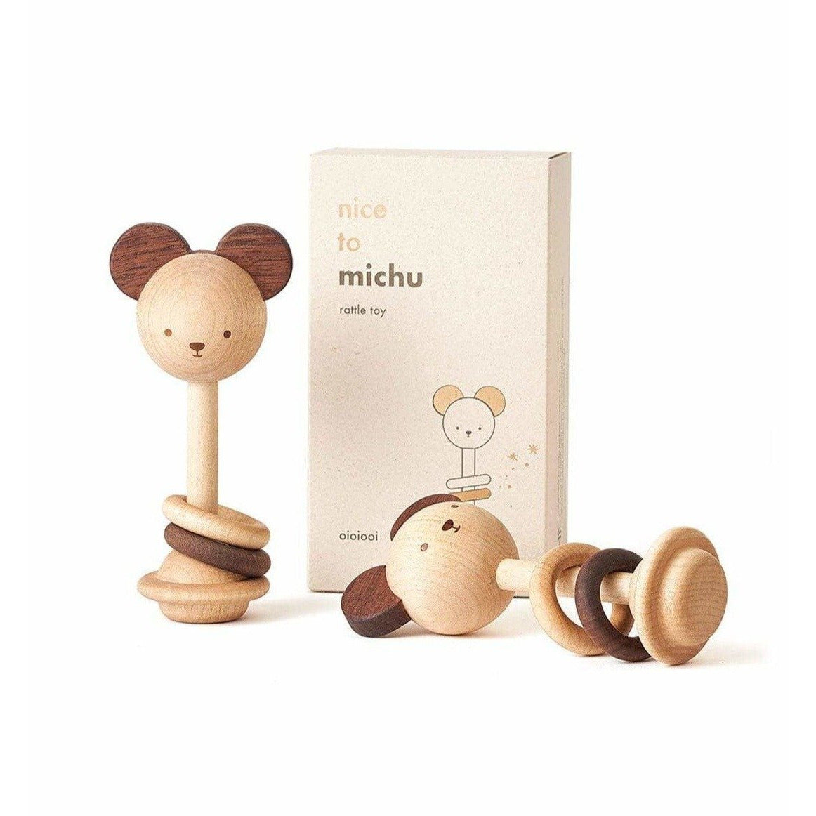 Oioiooi - Nice to Michu Baby Rattle