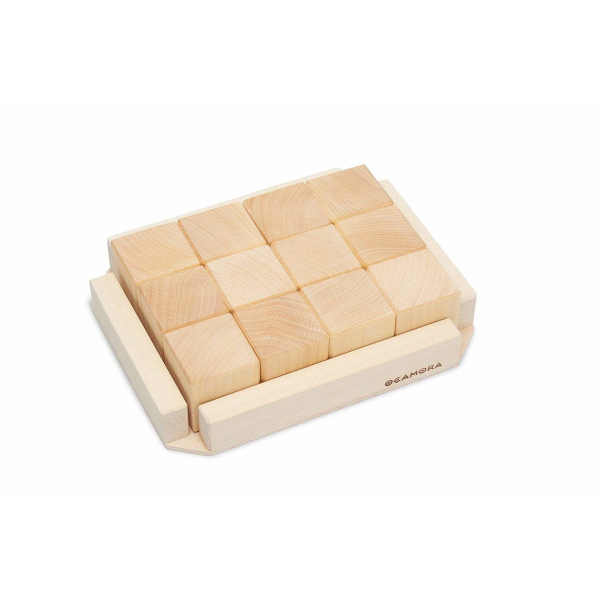 Ocamora Wooden Cubes: Natural