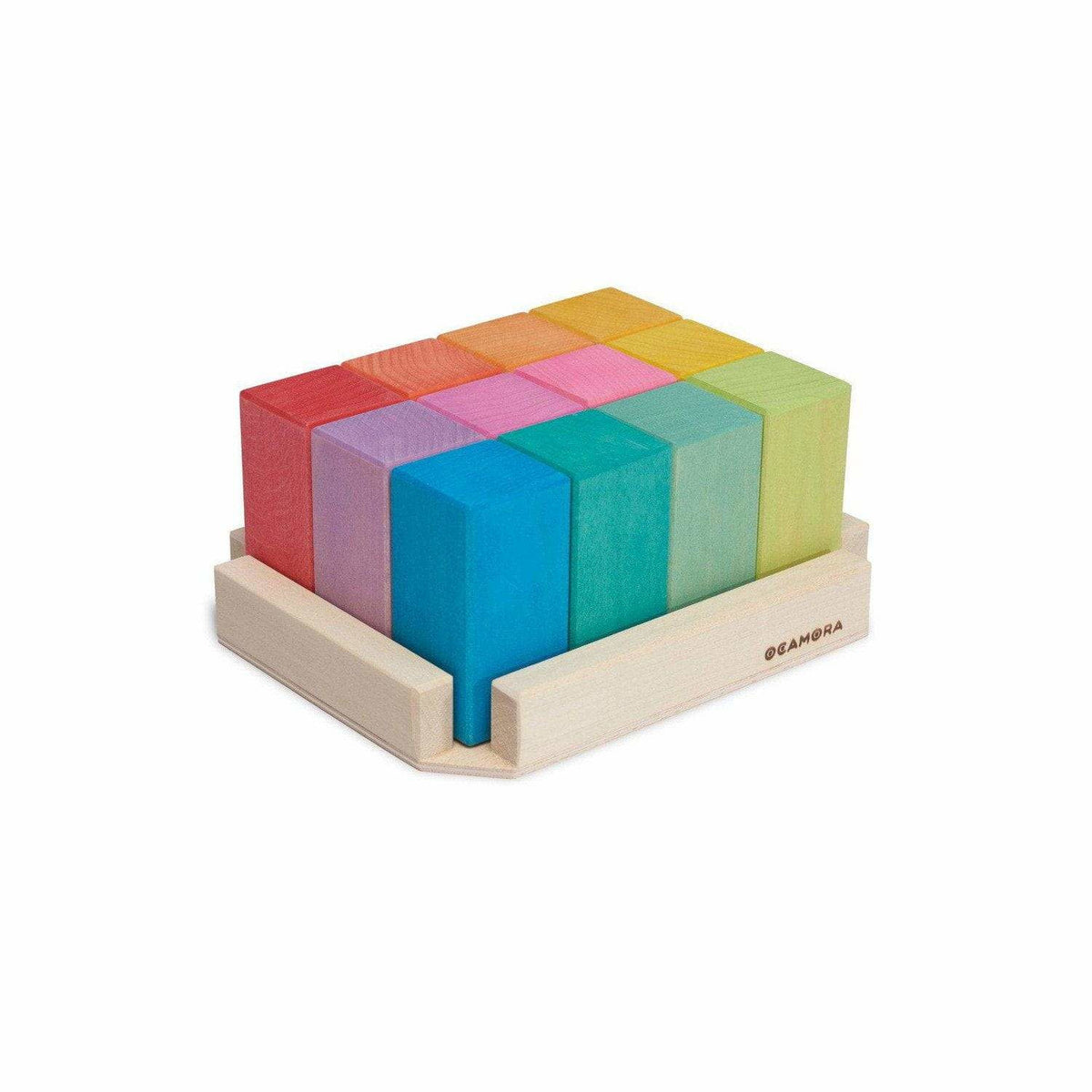 Ocamora Prisms Rectangular Blocks: Rainbow