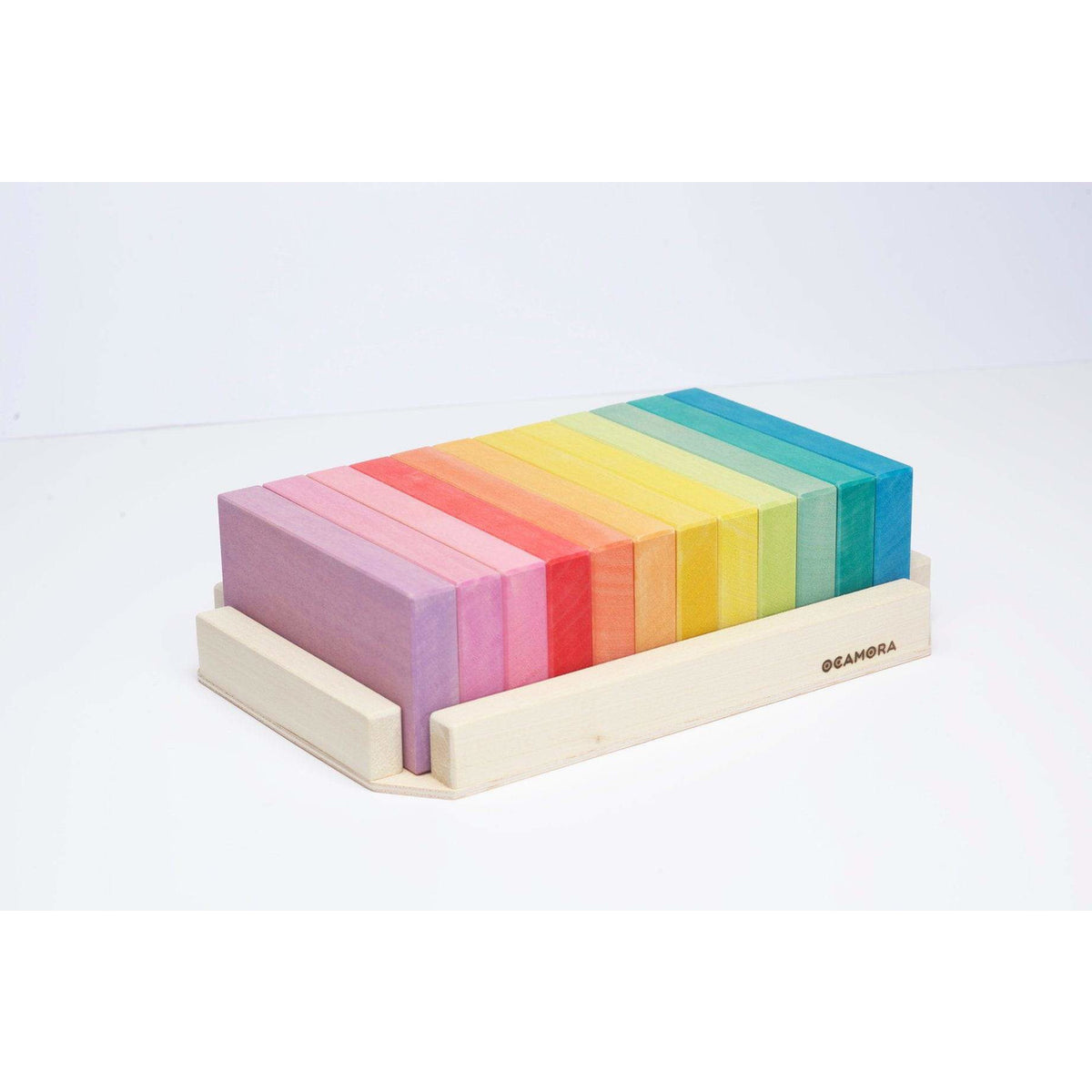 Ocamora Large Wooden Boards: Rainbow