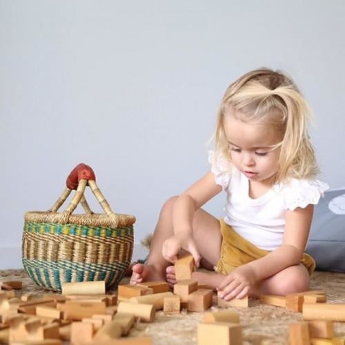 Wooden Story - Peace & Love Blocks (29 piece)