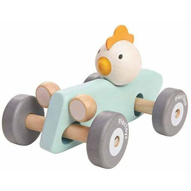 Plan Toys Chicken Racing Car