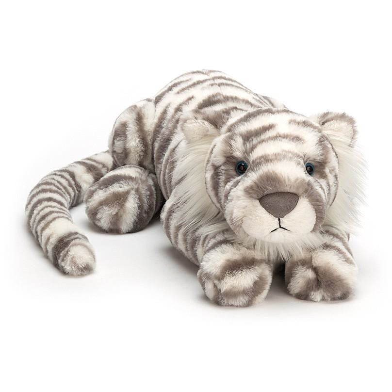 Jellycat Sacha Snow Tiger - Medium
