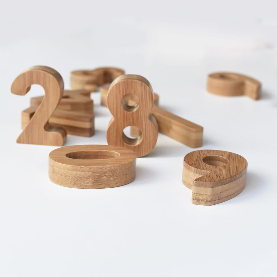 Wee Gallery Bamboo Numbers