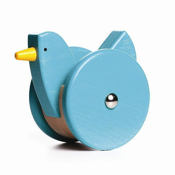 Bajo Wobbling Chicken Push/Pull Toy