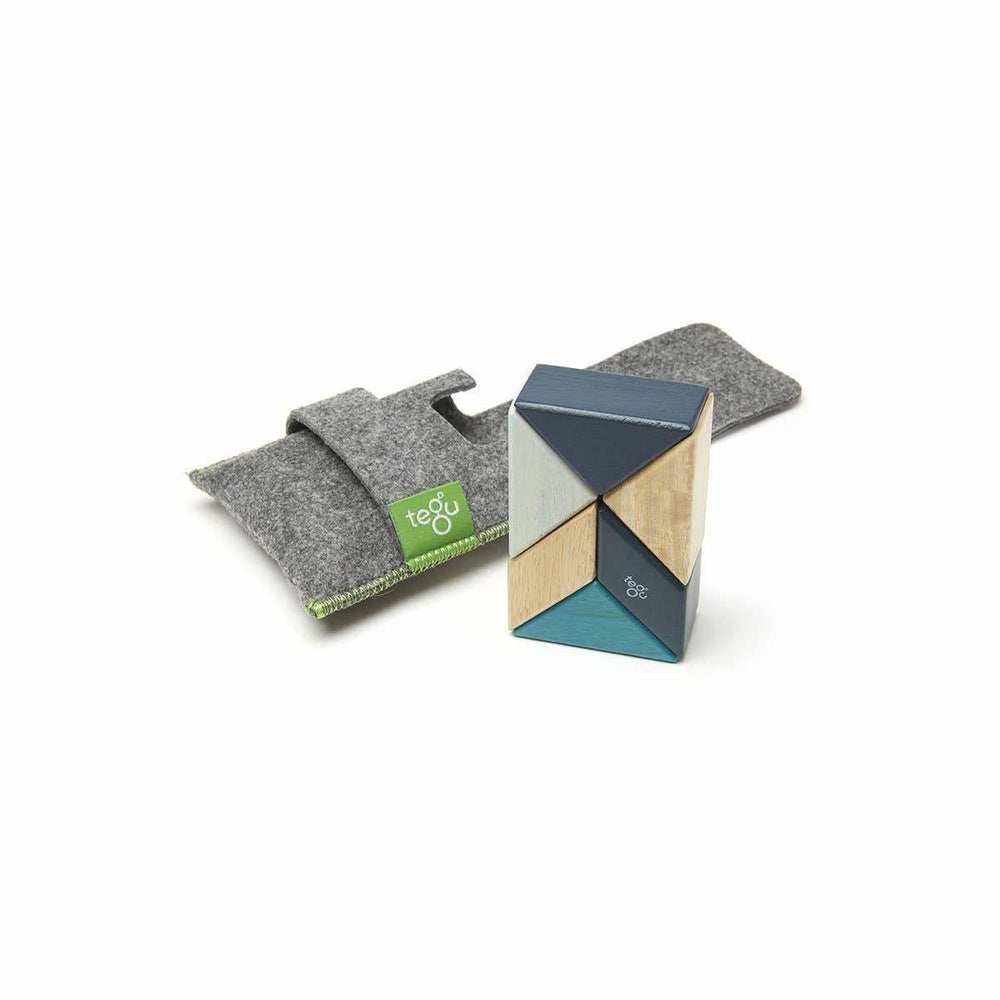 Tegu Pocket Pouch Prism: Blues