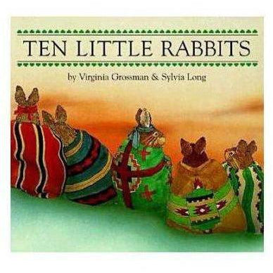 10 Little Rabbits Board Book