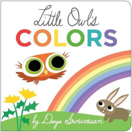 Little Owl's Colors Board Book