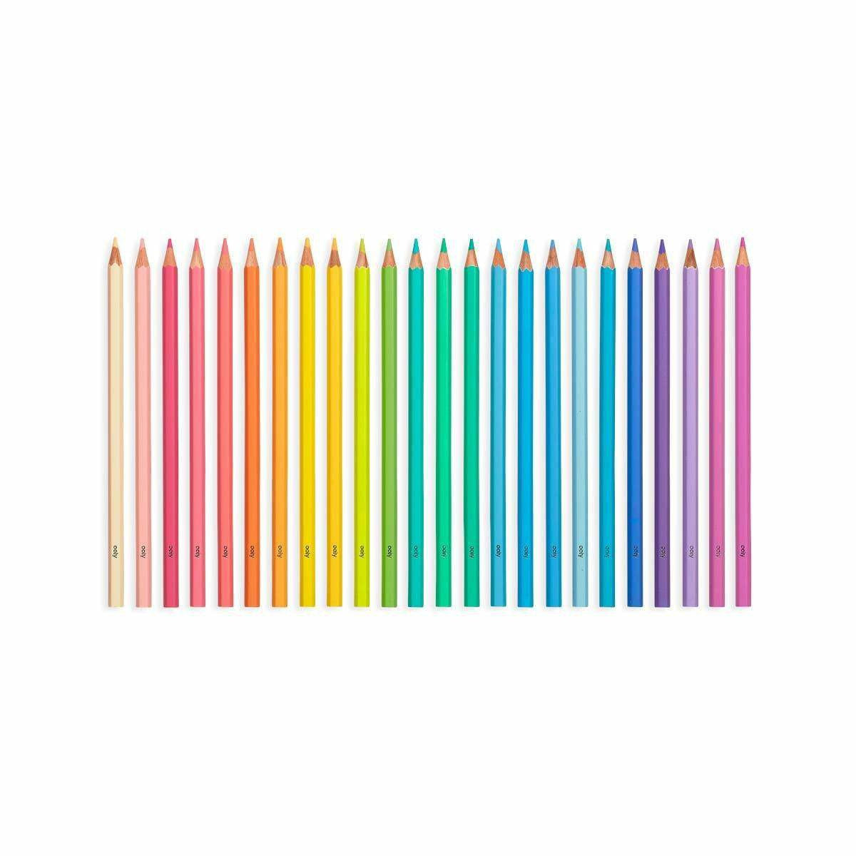 Ooly Pastel Hues Colored Pencils Set of 24